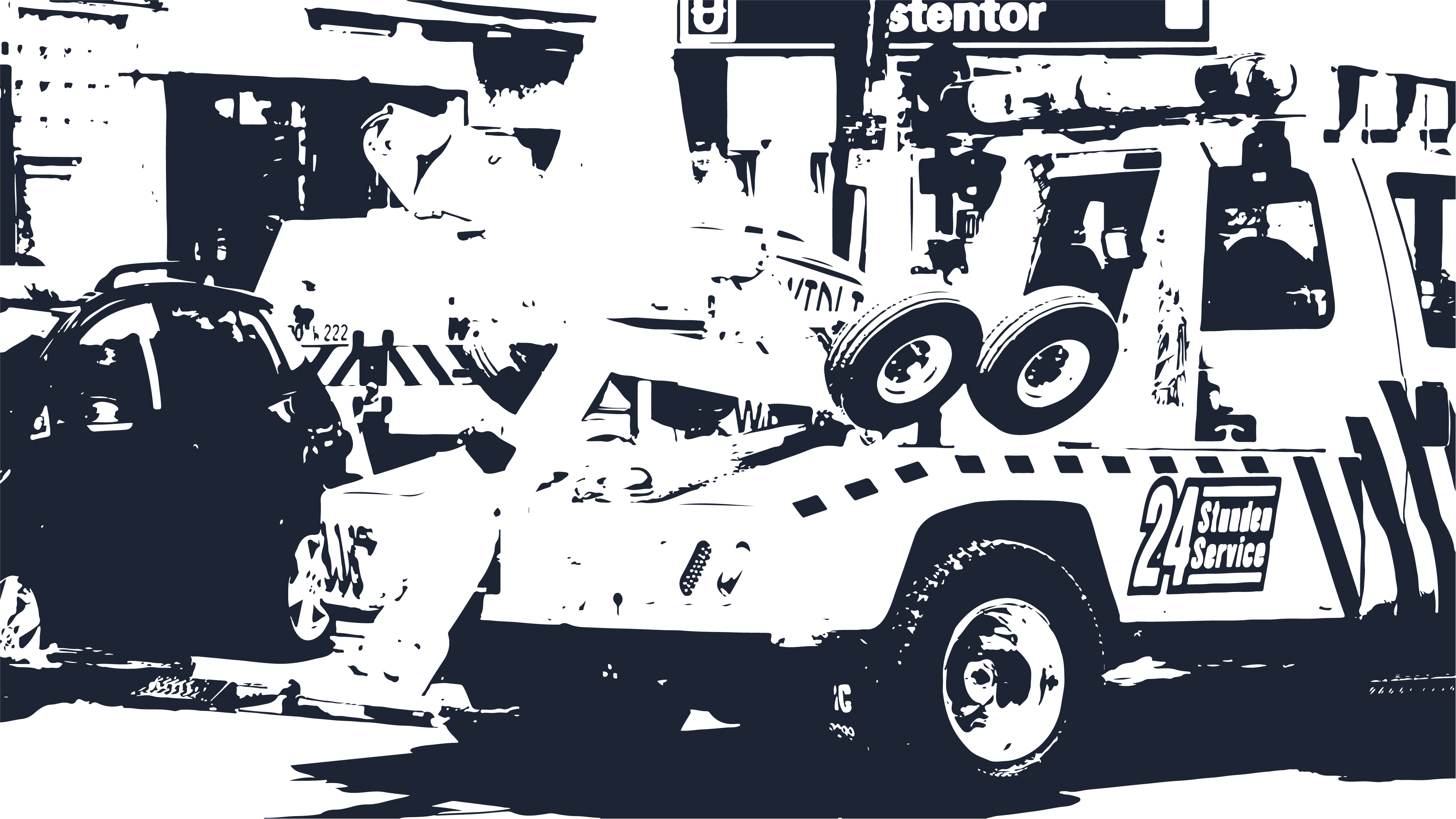 background image of a tow truck